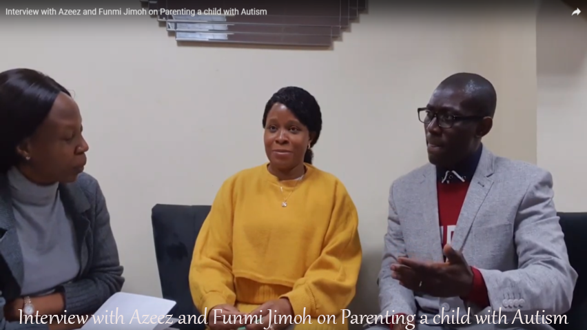 Interview with Azeez and Funmi Jimoh on Parenting a child with Autism