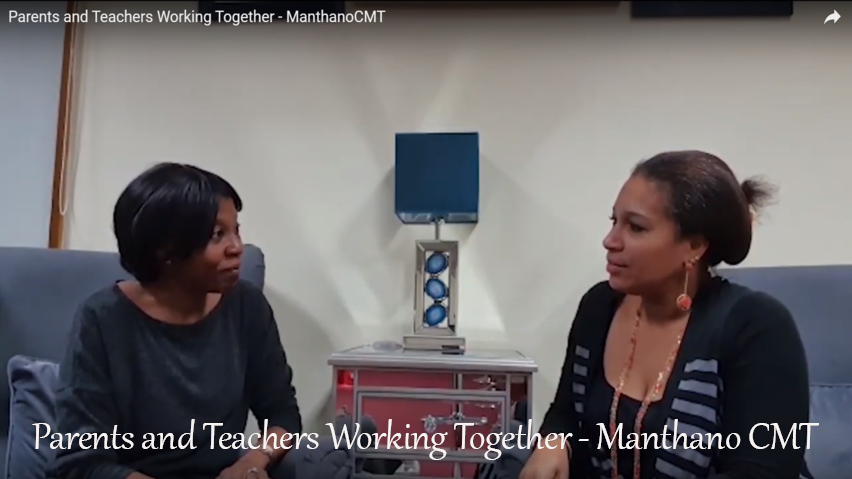 Parents and Teachers Working Together - ManthanoCMT