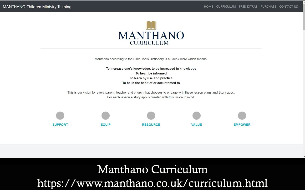 Manthano Curriculum