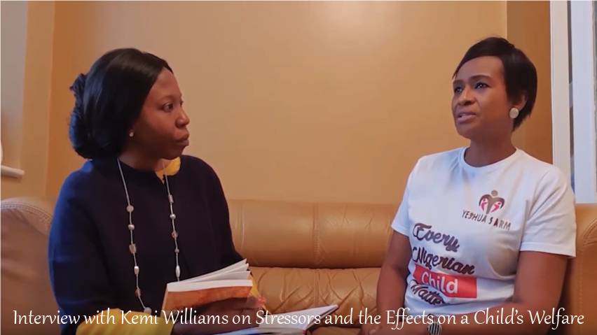 Interview with Kemi Williams on Stressors and the Effects on a Child's Welfare