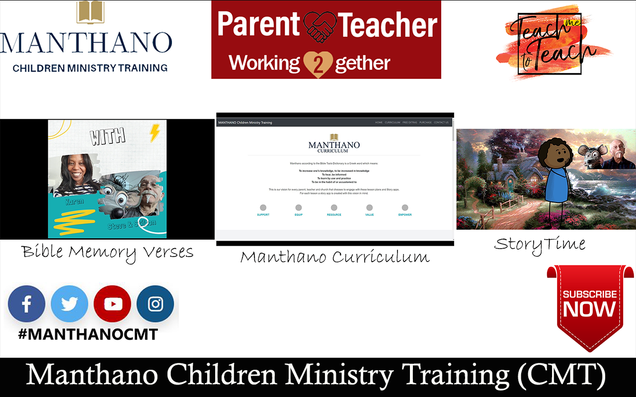 Manthano Children Ministry Training (CMT)